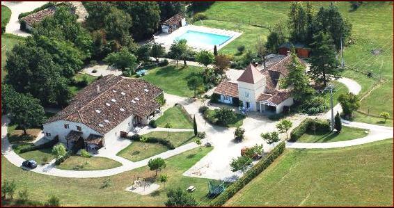 vakantiehuis 11 personen midden frankrijk